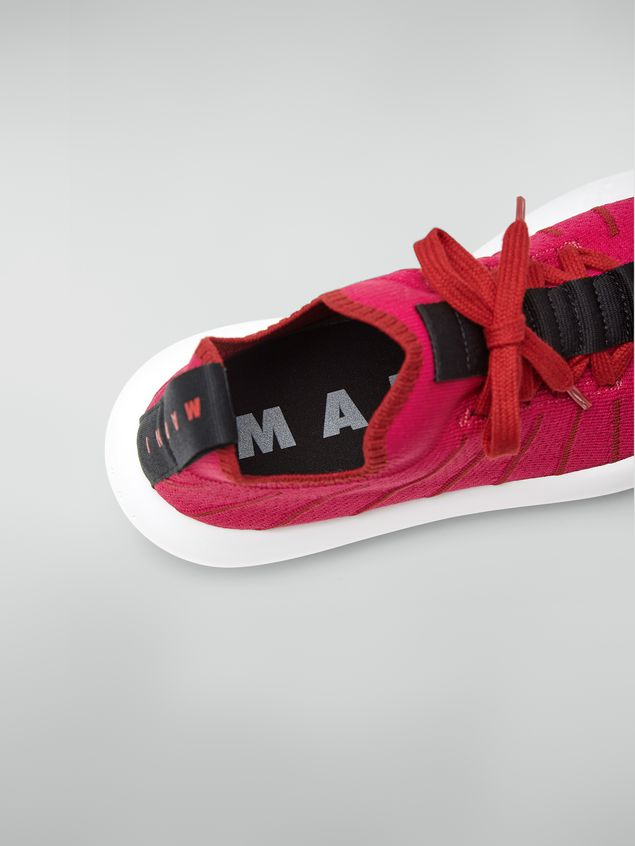 Marni BANANA Marni sneaker in techno fabric  Woman - 5