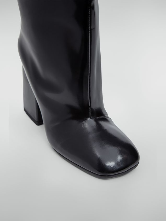 Marni Pipe-shaped boot in leather trousers effect Woman - 5