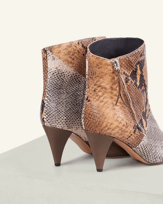 ISABEL MARANT BOOTS Woman LATTS BOOTS d