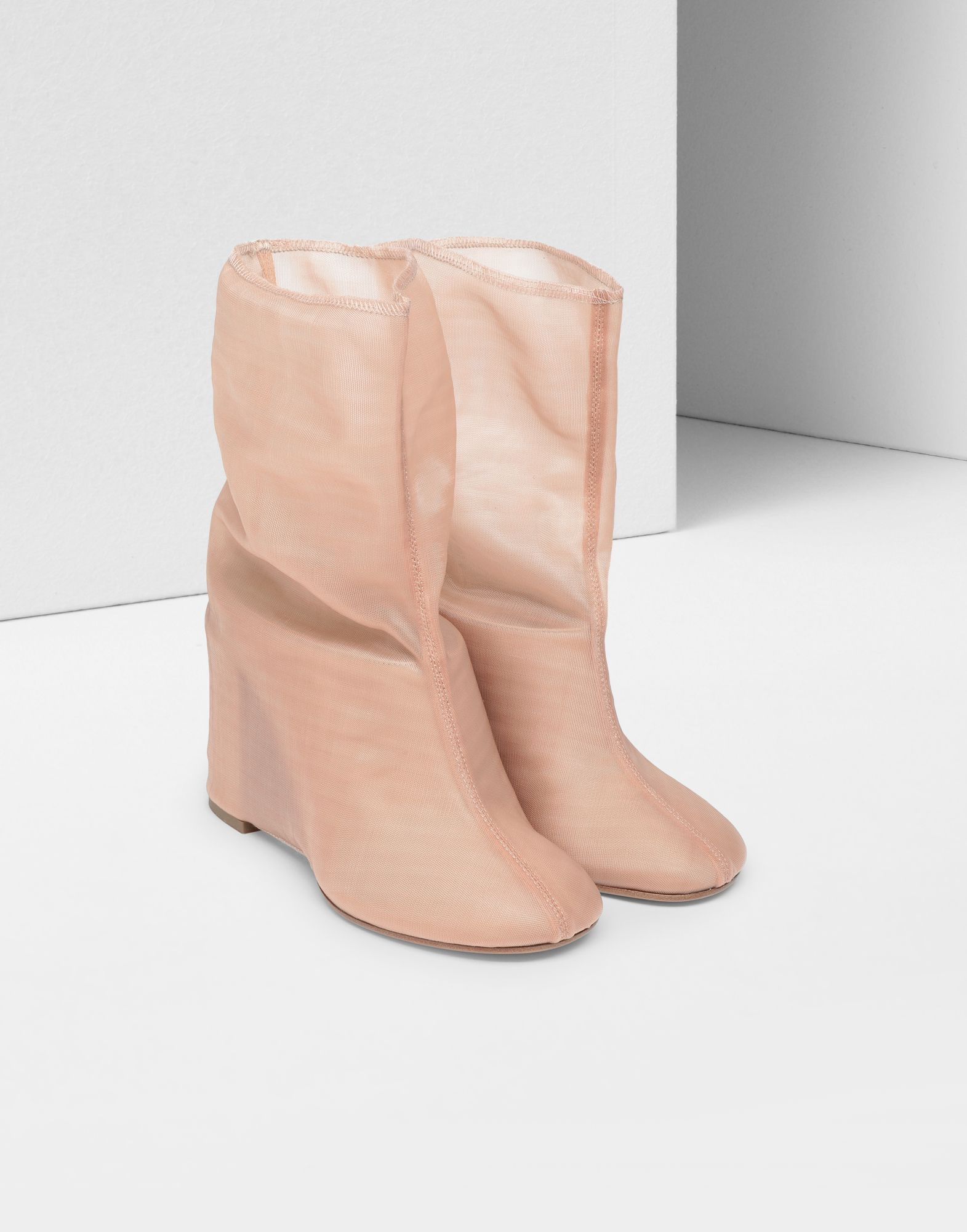 MM6 MAISON MARGIELA Covered leather mules Ankle boots Woman d
