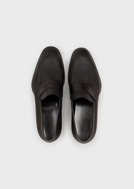 GIORGIO ARMANI Driving Shoes Man d