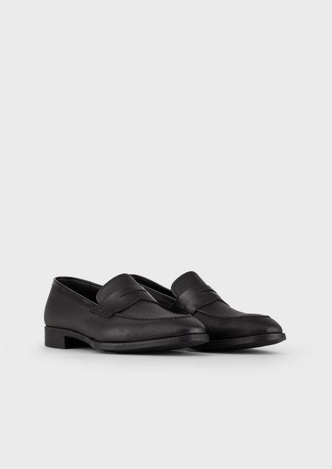 GIORGIO ARMANI Driving Shoes Man r
