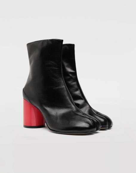 MAISON MARGIELA Tabi hologram leather boots Tabi boots & Ankle boots Woman d