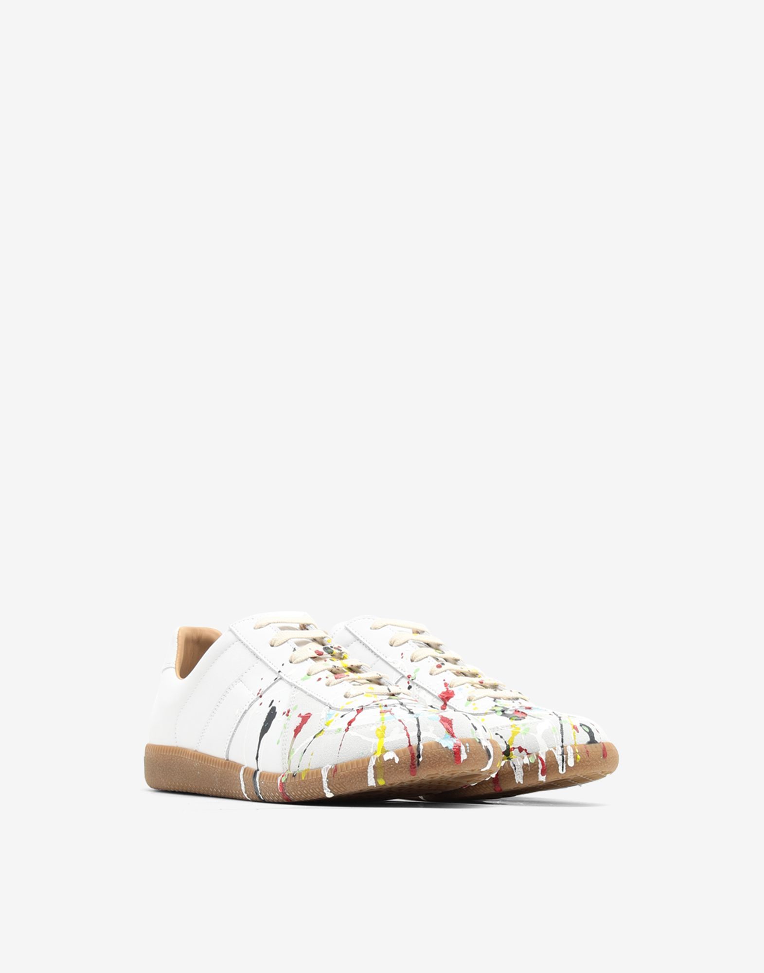 MAISON MARGIELA Replica 'Paint drop' sneakers Sneakers Man r
