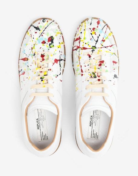 MAISON MARGIELA Replica 'Paint drop' sneakers Sneakers Man a