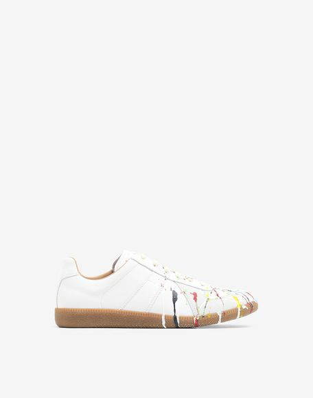 MAISON MARGIELA Replica 'Paint drop' sneakers Sneakers Man f