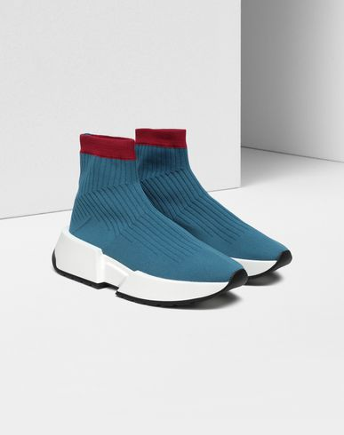 SHOES Sock running sneakers Pastel blue