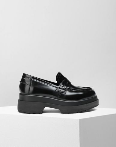 MM6 MAISON MARGIELA Leather loafers Moccasins Woman f