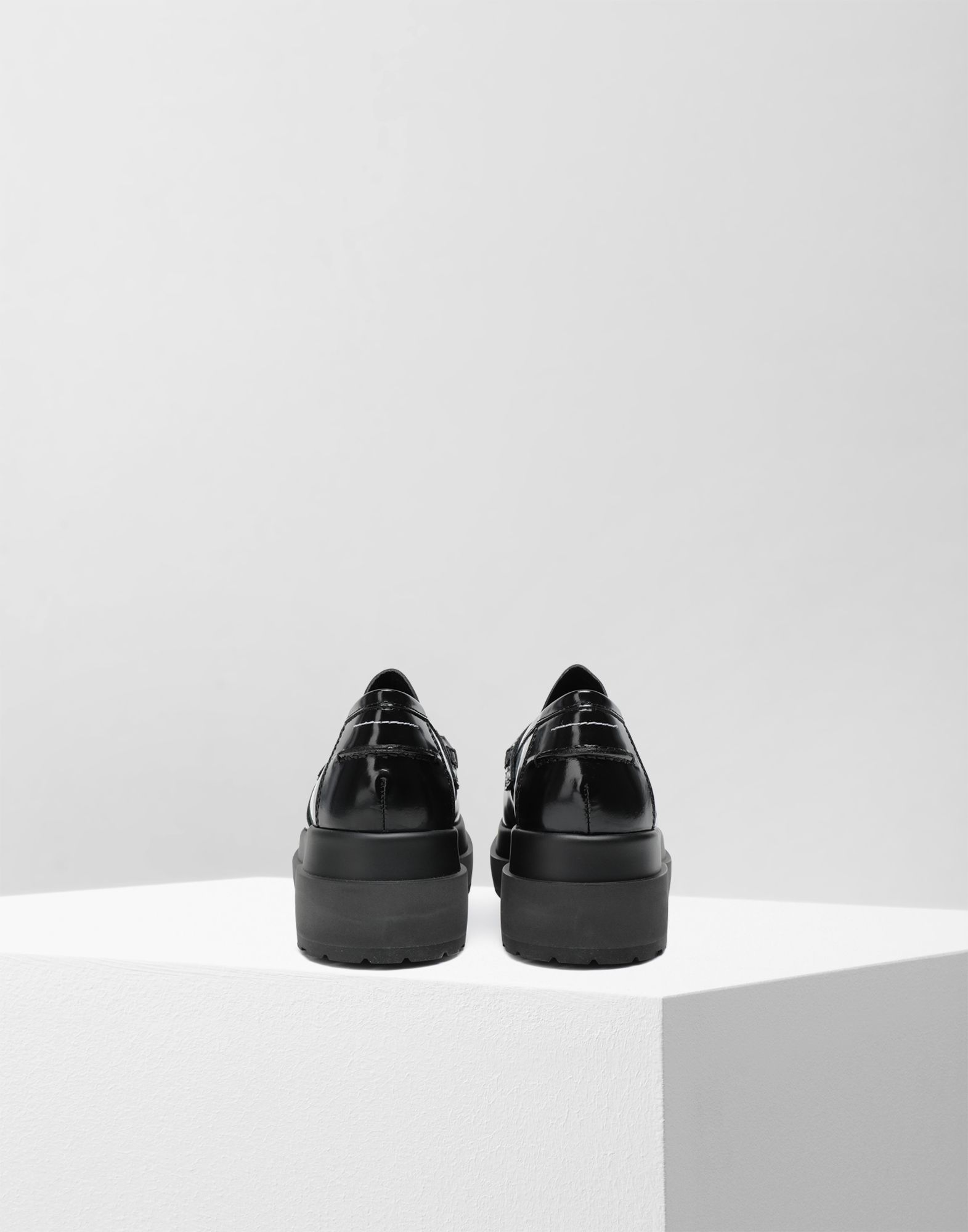 MM6 MAISON MARGIELA Leather loafers Moccasins Woman e