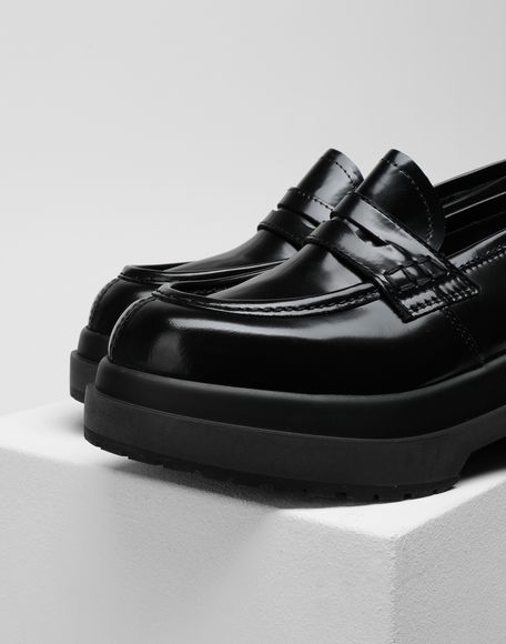 MM6 MAISON MARGIELA Leather loafers Moccasins Woman a