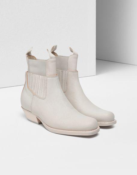 MM6 MAISON MARGIELA Double shaft leather boots Ankle boots Woman d