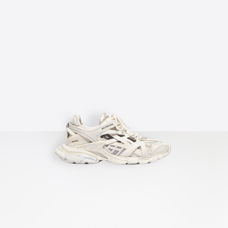 Track 2 Sneaker White For Men Balenciaga