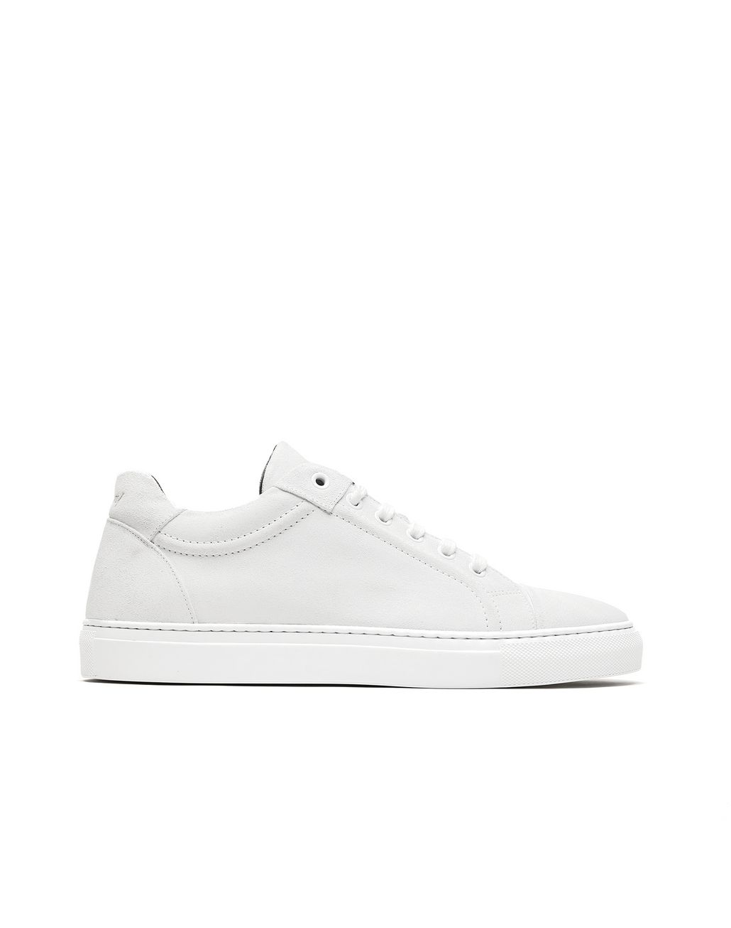 BRIONI White Suede Sneakers. Sneakers Man f