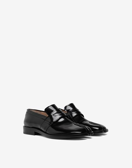 MAISON MARGIELA Tabi leather loafers Moccasins Woman d