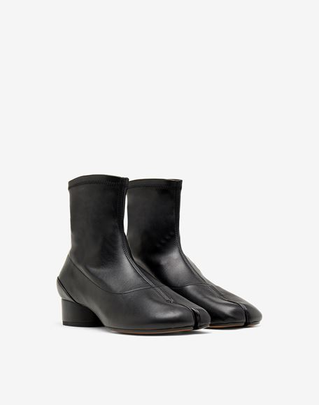 MAISON MARGIELA Tabi faux leather sock boots Tabi boots & Ankle boots Woman r
