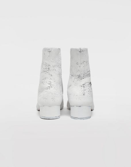 MAISON MARGIELA Tabi paint leather boots Tabi boots & Ankle boots Woman e