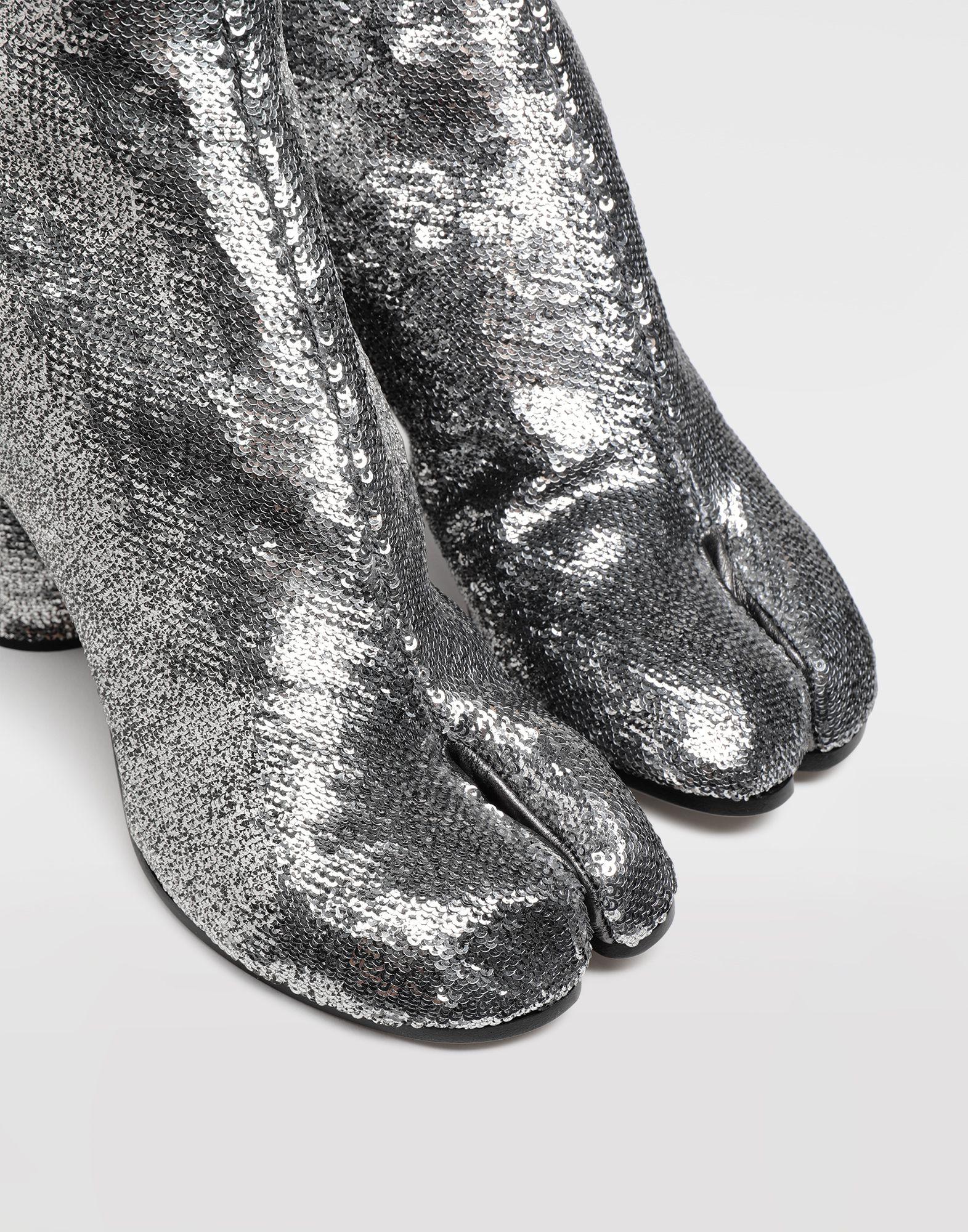 MAISON MARGIELA Tabi sequin boots Tabi boots & Ankle boots Woman b