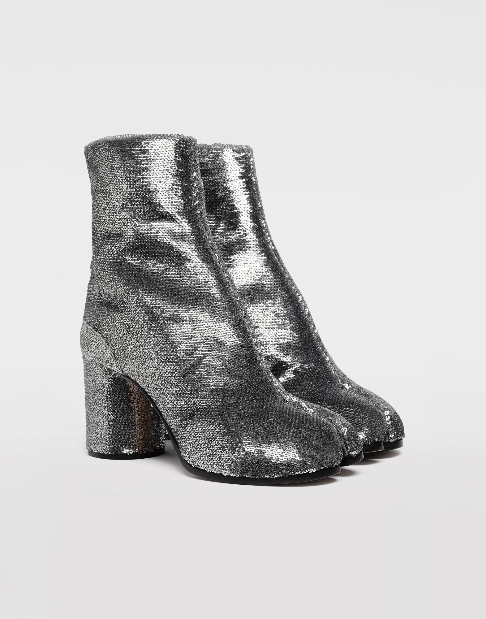 MAISON MARGIELA Tabi sequin boots Tabi boots & Ankle boots Woman d