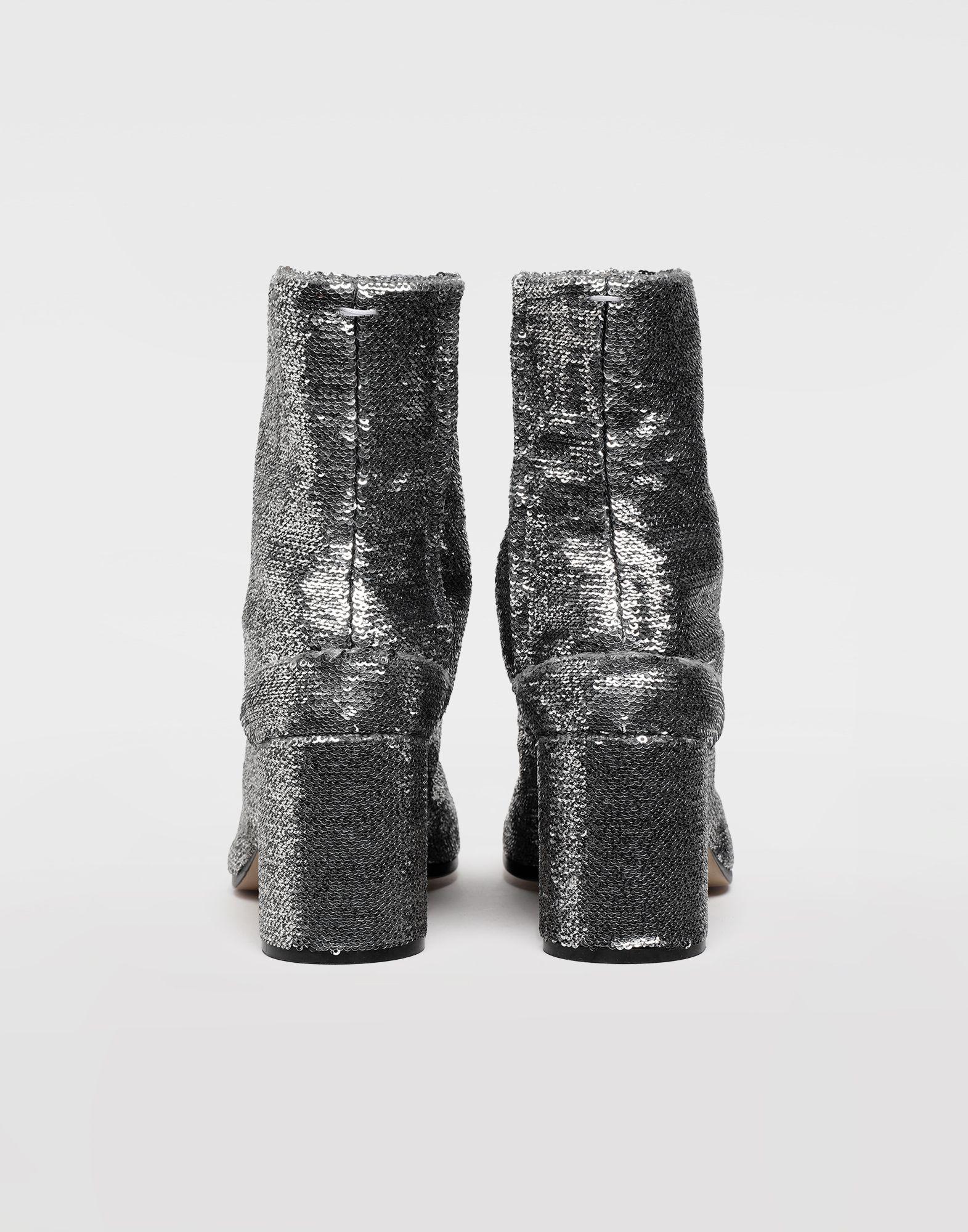 MAISON MARGIELA Stiefeletten Tabi mit Pailletten Ankle Boots Tabi Dame e