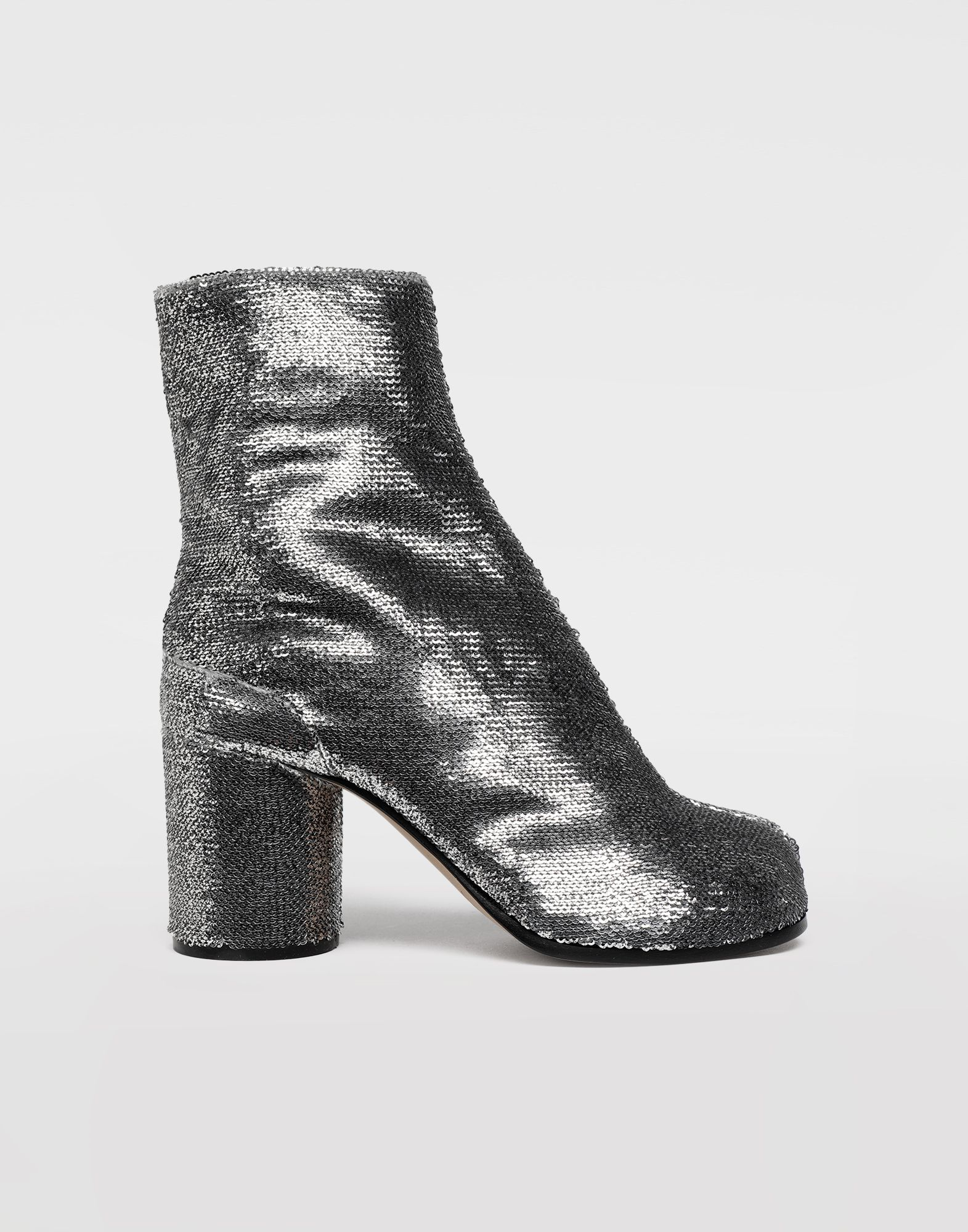 MAISON MARGIELA Tabi sequin boots Tabi boots & Ankle boots Woman f