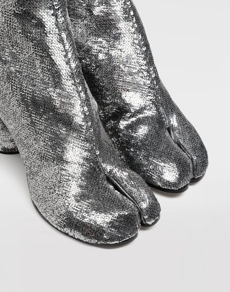MAISON MARGIELA Tabi sequin boots Tabi boots & Ankle boots Woman b
