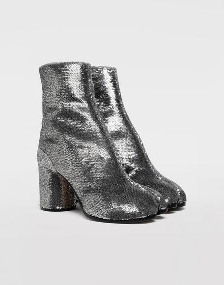MAISON MARGIELA Tabi sequin boots Tabi boots & Ankle boots Woman d