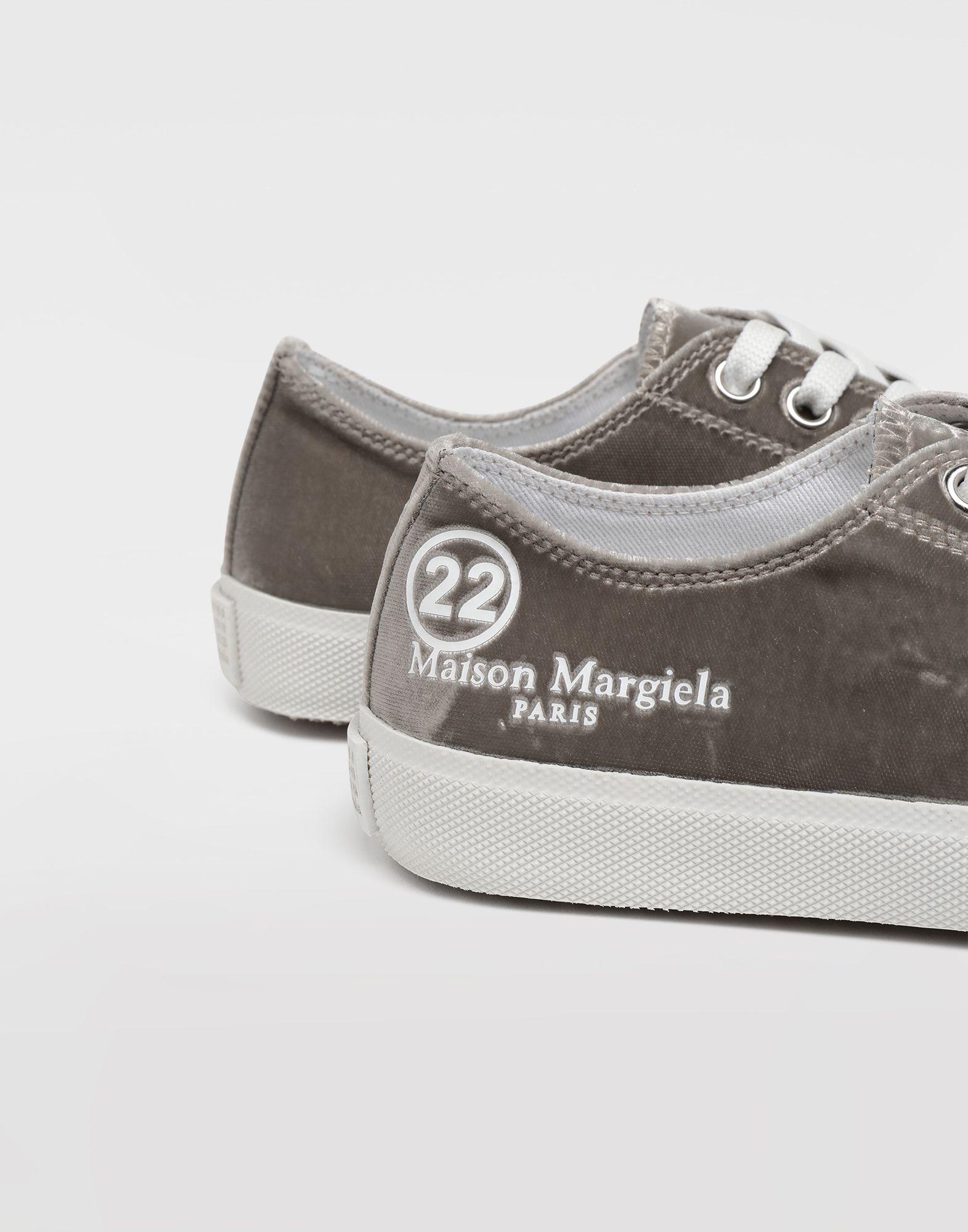 MAISON MARGIELA Sneakers Tabi aus Samt Sneakers Tabi Dame a
