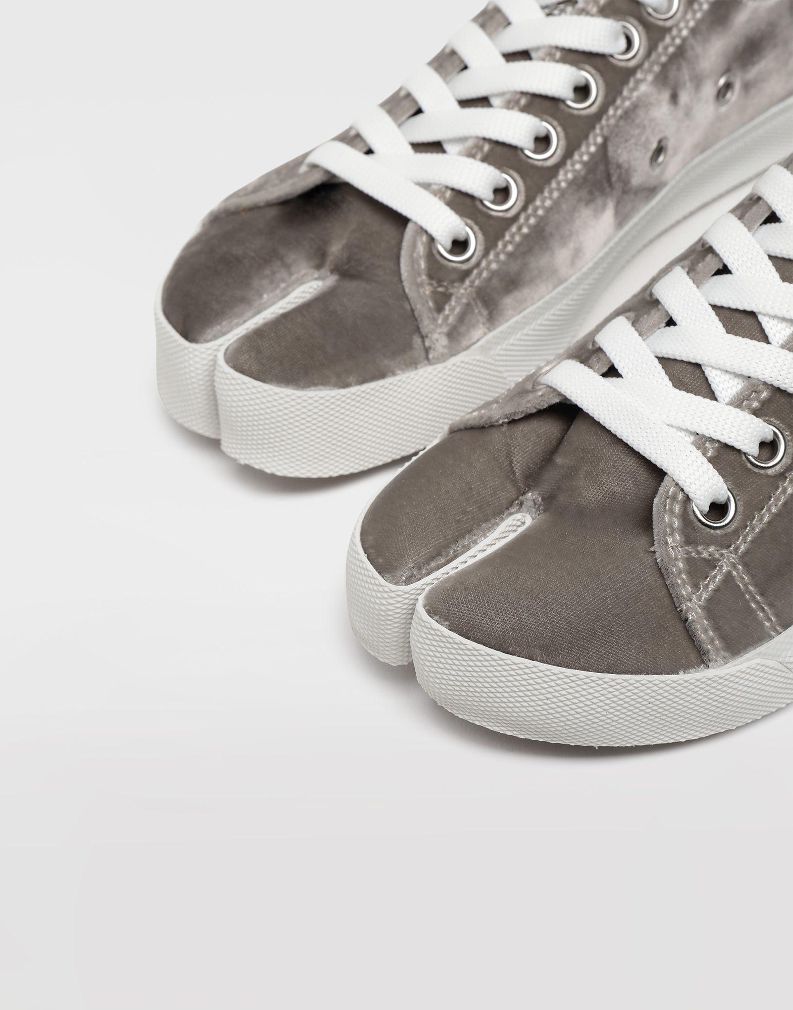 MAISON MARGIELA Sneakers Tabi aus Samt Sneakers Tabi Dame b