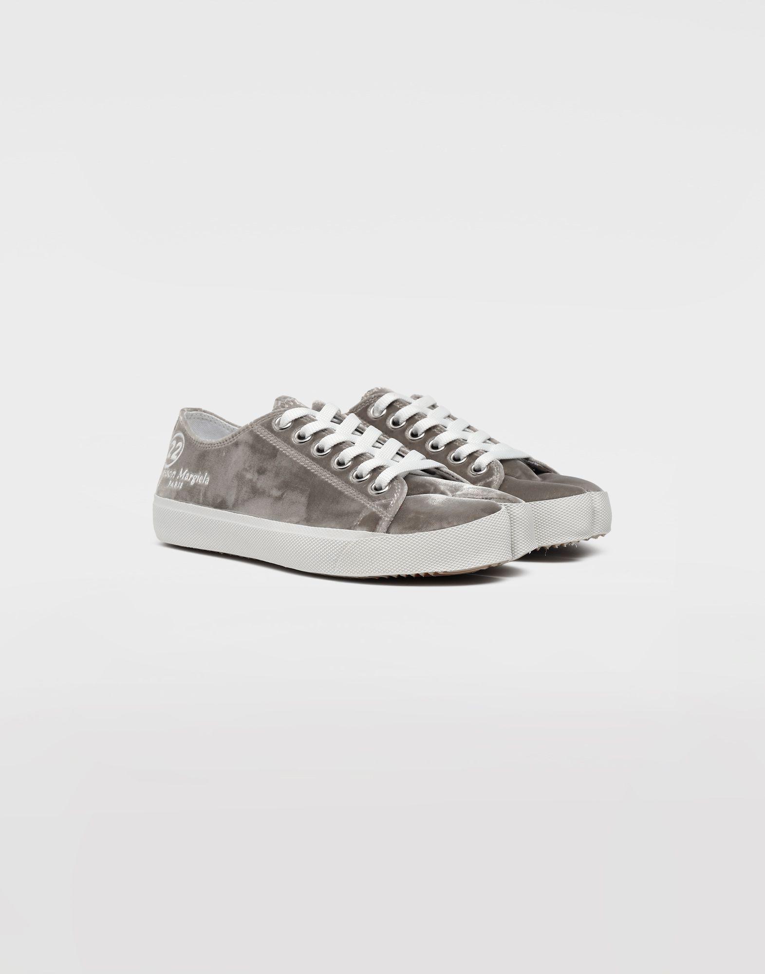 MAISON MARGIELA Sneakers Tabi aus Samt Sneakers Tabi Dame d