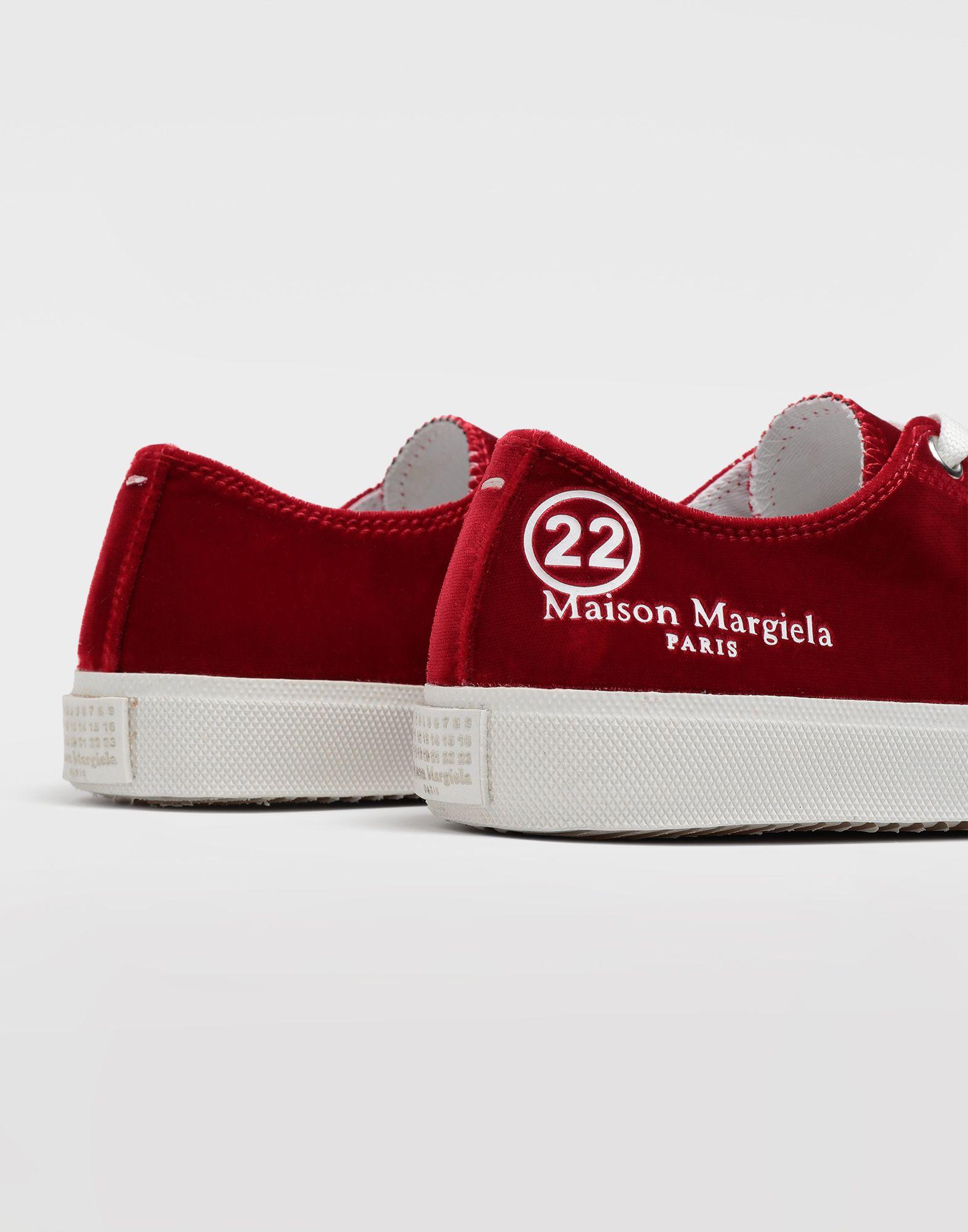 MAISON MARGIELA Tabi velvet sneakers Sneakers Tabi Woman a