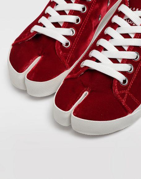 MAISON MARGIELA Tabi velvet sneakers Sneakers Tabi Woman b