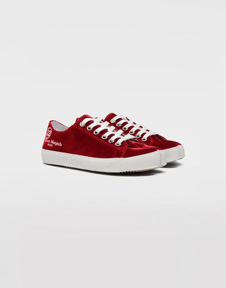 MAISON MARGIELA Tabi velvet sneakers Sneakers Tabi Woman d