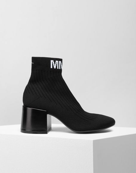 MM6 MAISON MARGIELA Flare heel ankle boots Ankle boots Woman f
