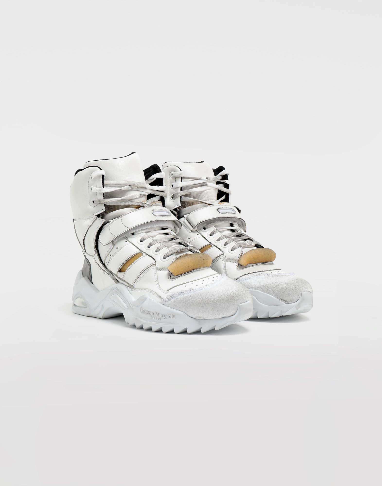MAISON MARGIELA Retro-fit high-top sneakers Sneakers Man d