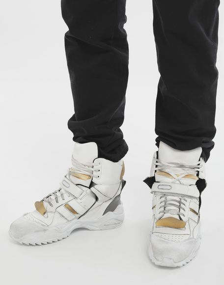 MAISON MARGIELA Retro-fit high-top sneakers Sneakers Man r