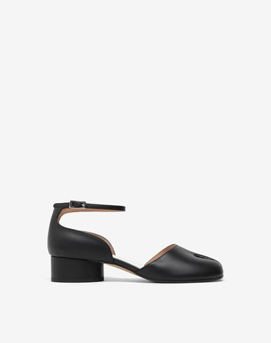 SHOES Tabi ankle-strap shoes  Black