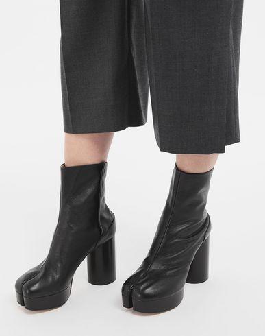 MAISON MARGIELA Ankle boots Woman Tabi platform ankle boot r