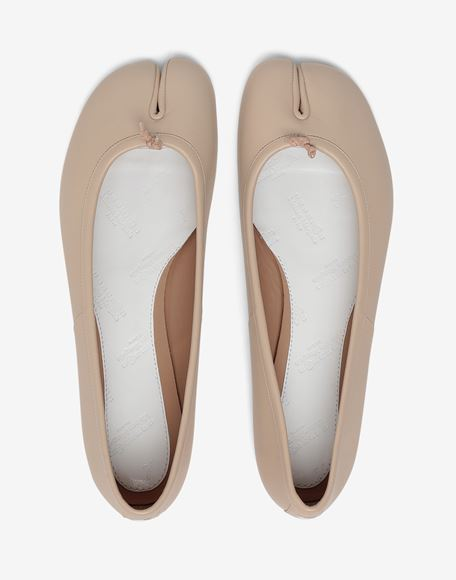 MAISON MARGIELA Tabi calfskin ballerinas Ballet flats Woman e