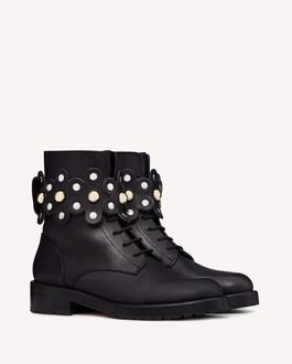 REDValentino Boots and ankle boots Woman SQ2S0B43MHZ 0NO f