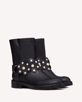 REDValentino Boots and ankle boots Woman SQ2S0C59NXG 0NO f