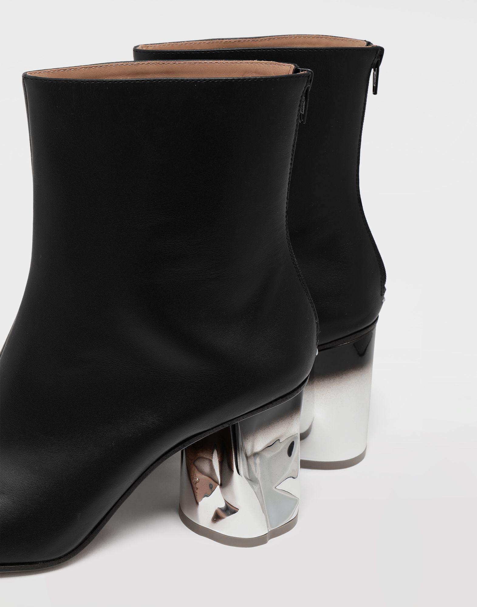 MAISON MARGIELA Trompe-l'œil calfskin boots Ankle boots Woman a