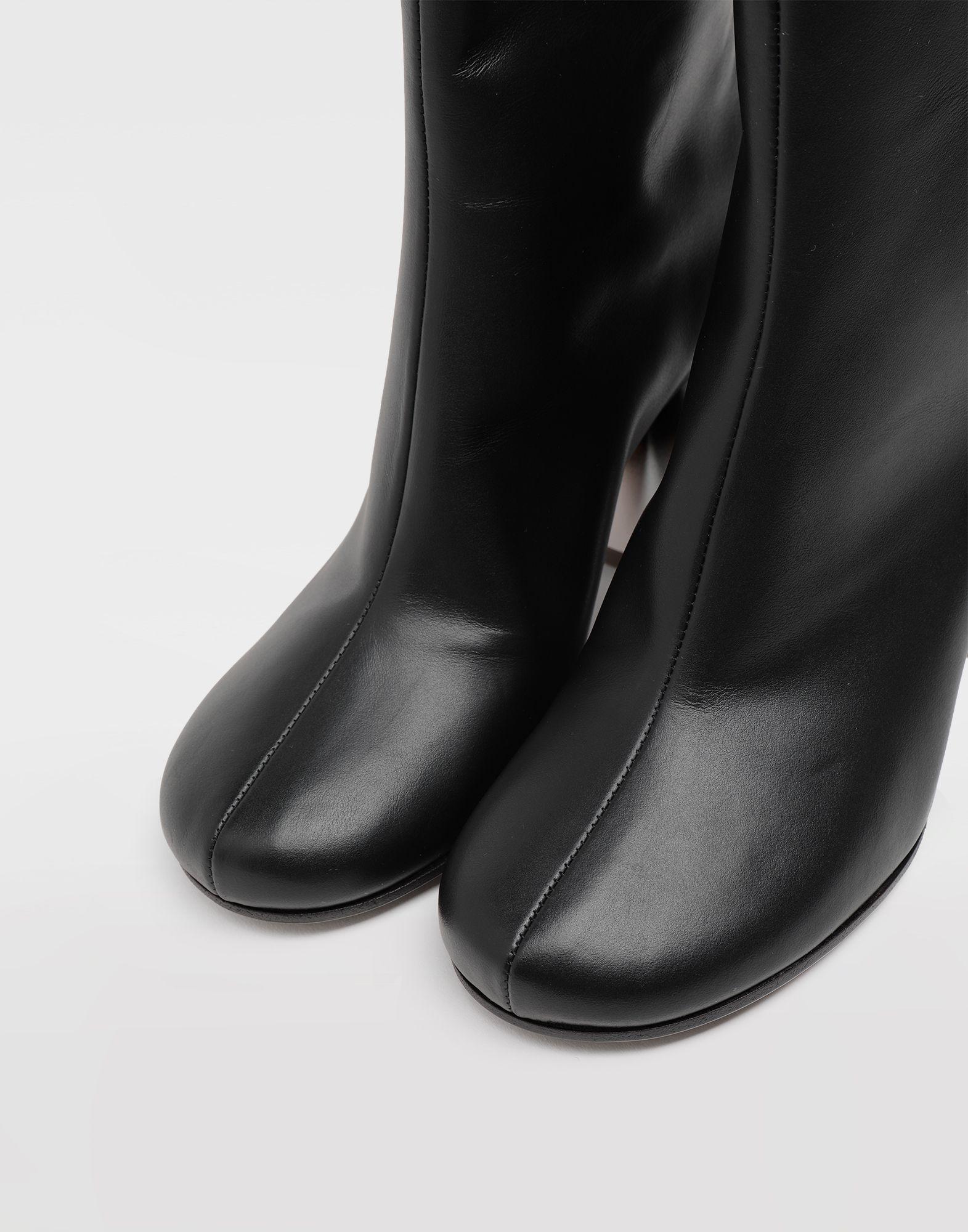 MAISON MARGIELA Trompe-l'œil calfskin boots Ankle boots Woman b