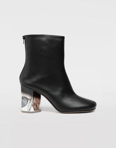 MAISON MARGIELA Trompe-l'œil calfskin boots Ankle boots Woman f