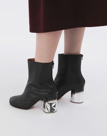 MAISON MARGIELA Trompe-l'œil calfskin boots Ankle boots Woman r