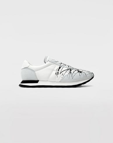 MAISON MARGIELA Chaussures de running Replica 'paint' Sneakers Homme f