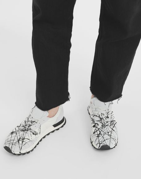 MAISON MARGIELA Replica paint runners Sneakers Man r