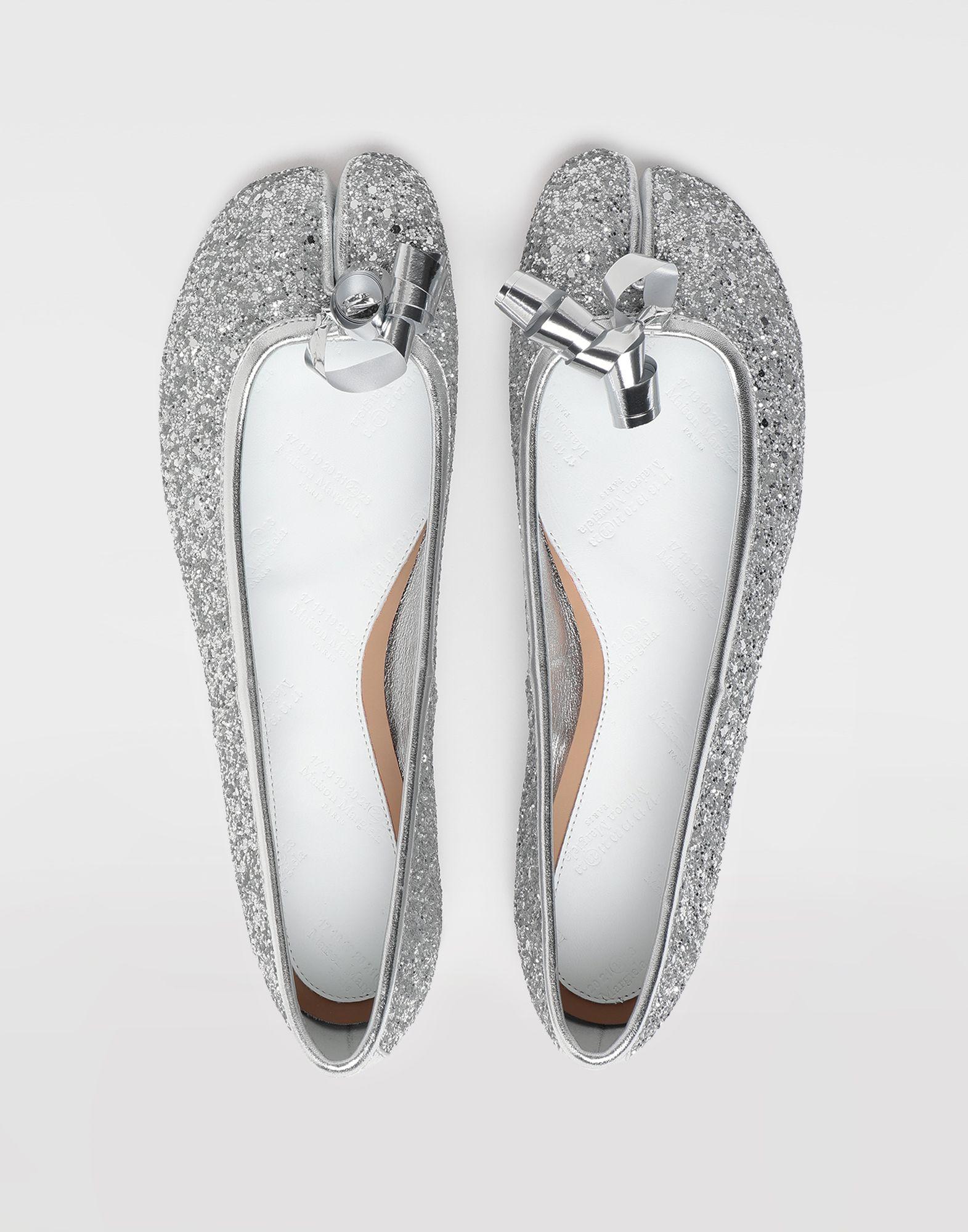 MAISON MARGIELA Tabi glitter ballerina Tabi ballet flats Woman e