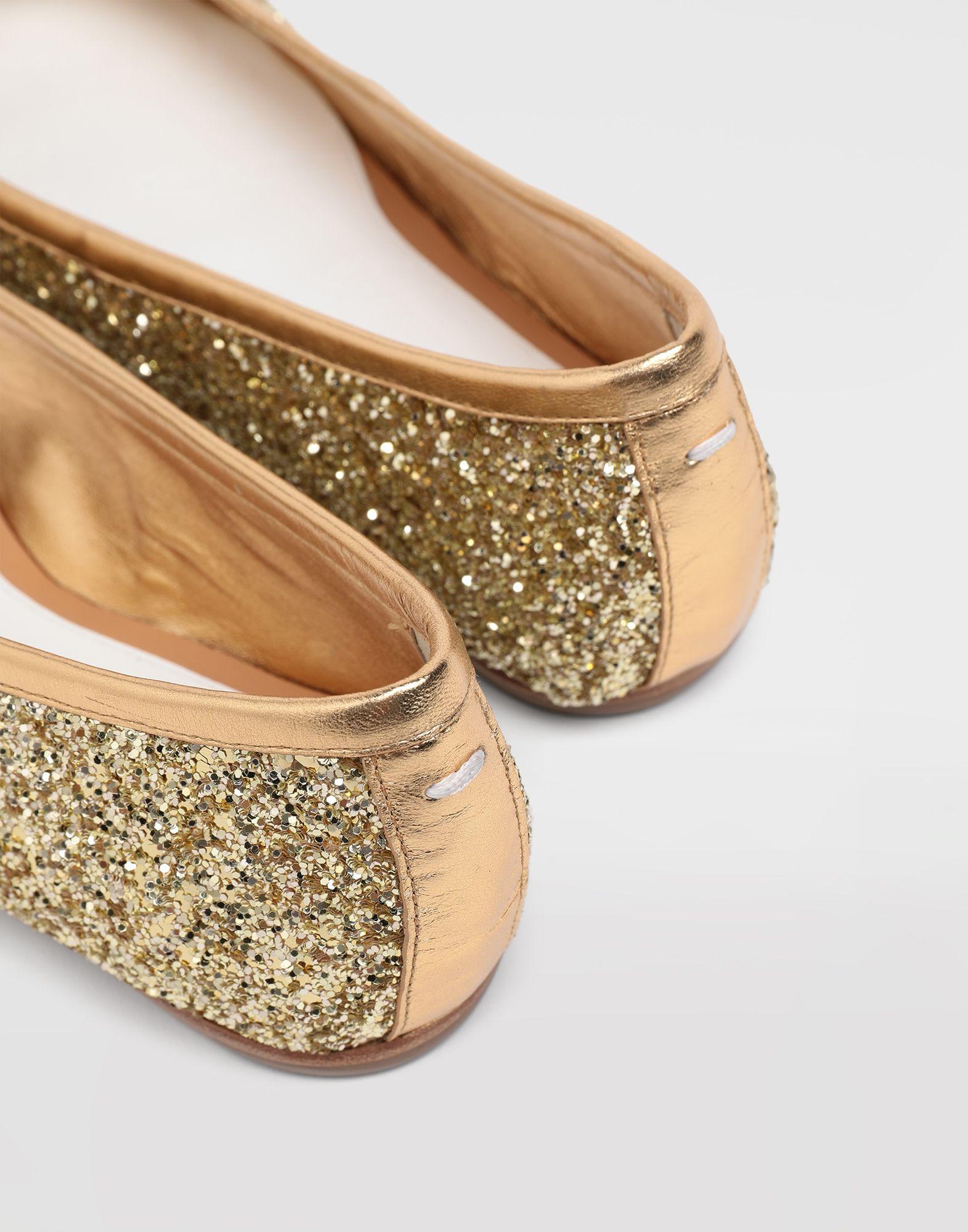 MAISON MARGIELA Ballerine Tabi con glitter Ballerine Tabi Donna b