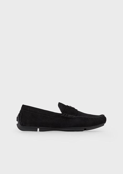 EMPORIO ARMANI Driving Shoes Man f