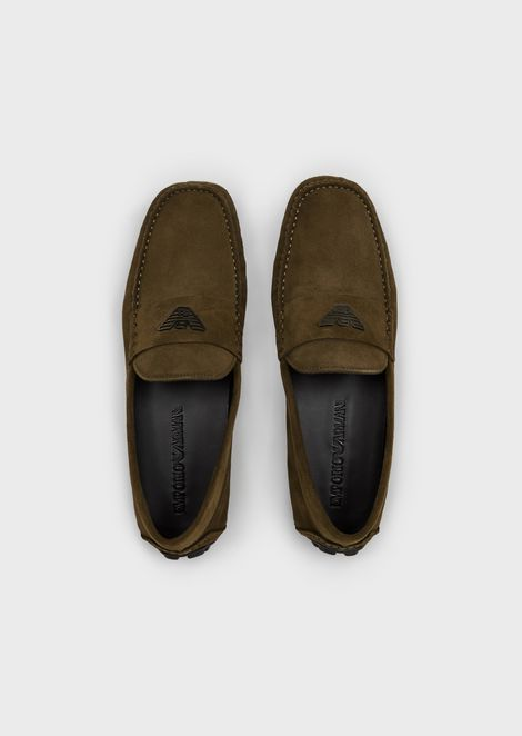 EMPORIO ARMANI Driving Shoes Man d